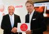 Kanzlerkandidat Martin Schulz besuchte Canon Deutschland