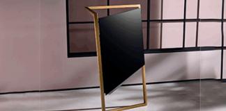 Loewe präsentiert den bild 9 wie eine Skulptur