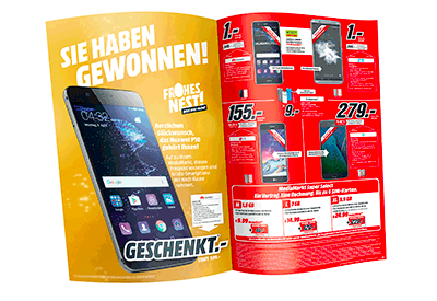 Mediamarkt Verschenkt Im Aktuellen Prospekt 1000 Smartphones Ce Markt