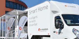 Smart Home auf Rädern: e-masters mit exklusivem TechnikMobil auf Tour