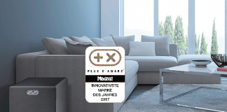 "Magnat: ""Most Innovative Brand 2017"" des Plus X Awards"