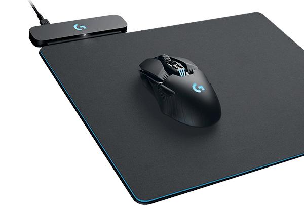 Neue Logitech G-Technologien Powerplay und Lightspeed für Gaming-Mäuse