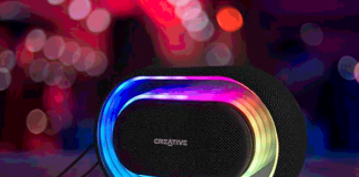 Creative Halo: Bluetooth-Speaker mit buntem Licht