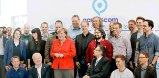 Bundeskanzlerin Angela Merkel eröffnete die gamescom