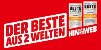 """MediaMarkt: Top-Bewertung für den """"Besten aus zwei Welten"""""""