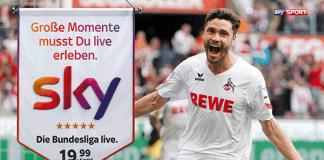 Sky-Kampagne zum Start der Fußball-Bundesliga