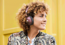 Panasonic: Kabellose Over-Ear Kopfhörer im Retro-Look