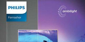 Sofortbonus-Aktion für Philips Ambilight TVs