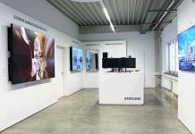 Samsung eröffnet LED-Showroom in Schwalbach