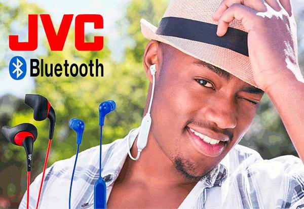 JVC: Bluetooth In-Ear-Kopfhörer der Einstiegsklasse