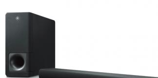 Yamaha-Soundbar gibt kinoreifen 3D-Sound wieder