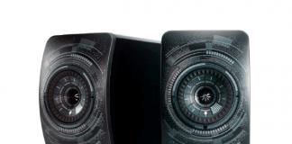 "KEF-Sonderedition LS50 Wireless ""Nocturne"" by Marcel Wanders"