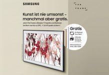 Samsung-Verkaufsaktion zu The Frame Fernseher