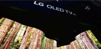 LG begeistert CES-Besucher mit OLED-Canyon