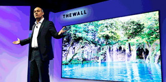 CES 2018: Samsung mit MicroLED-TV The Wall