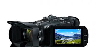 Full-HD-Camcorder Legria HF G26 von Canon