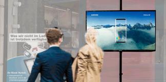 Brodos bietet Händlern digitalen Schaufenster-TV