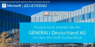 Generali modernisiert Außendienst mit Surface Book
