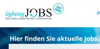 Relaunch von lighting-jobs.de - Stellenbörse für den Lichtmarkt