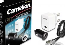 Camelion 3in1-USB Carger