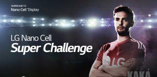 Kaka bei LG Nano Cell Super-Challenge