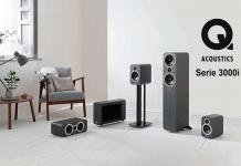 Q Acoustics Lautsprecherserie 3000i im Vertrieb von IDC Klaassen