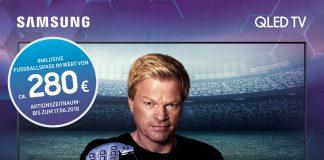 Samsung Sportworld Aktion mit Oliver Kahn