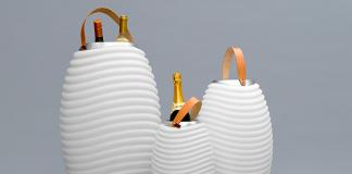 Synergy von Nedis: Lampe, Lautsprecher und Getränke-Kühlung in einem