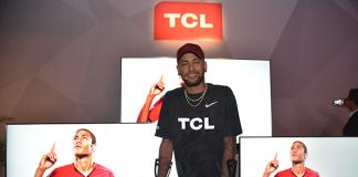 TCL: Neymar eröffnet globale Sportkampagne 2018
