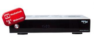 Flexibel einsetzbare HD-Sat-Receiver der Marke Fte maximal