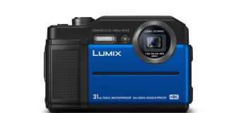 Panasonic LUMIX FT7 blau
