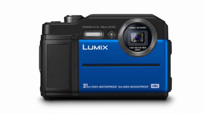 Panasonic LUMIX FT7 blau