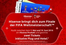 Hisense Gewinnspiel Fußball-WM 2018