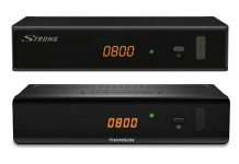 Neue DVB-C Receiver Strong SRT 3002 und Thomson THC301