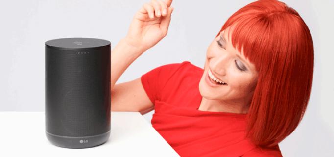 Miss IFA präsentiert: WK7 Bluetooth Lautsprecher mit Google Assistant von LG Electronics