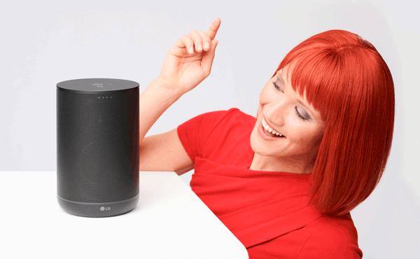 WK7 Bluetooth Lautsprecher mit Google Assistant von LG Electronics
