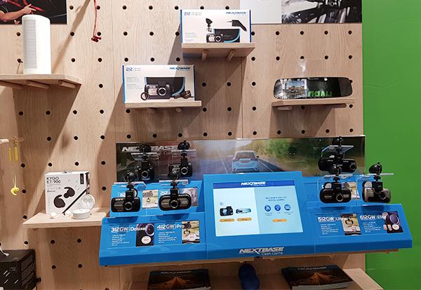 Aqipa vertreibt jetzt die Dashcams von Nextbase