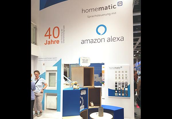 Intelligentes Zuhause von Homematic IP mit Alexa-Sprachsteuerung