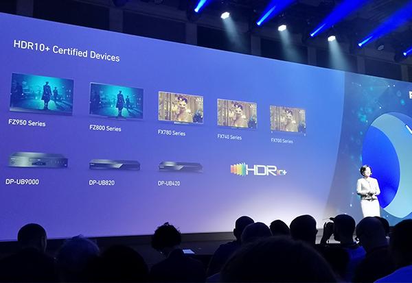 Panasonic unterstützt den UHD-Standard HDR10+