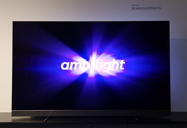 Philips TV meets Bowers & Wilkins - OLED 903 mit Ambilight und erstklassigem Sound
