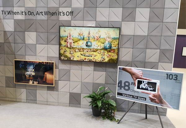 Samsung The Frame mit noch mehr bekannten Kunstwerken