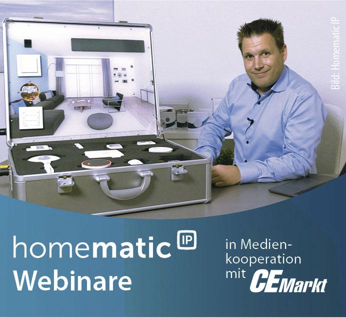 homematic ip in 90 minuten zu mehr smart home kompetenz ce markt. Black Bedroom Furniture Sets. Home Design Ideas