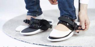 cybershoes anziehen