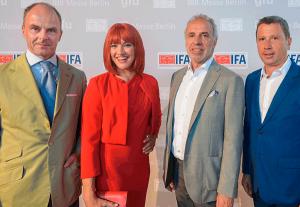 Göke, Miss IFA, Kamp, Heithecker auf der IFA 2018