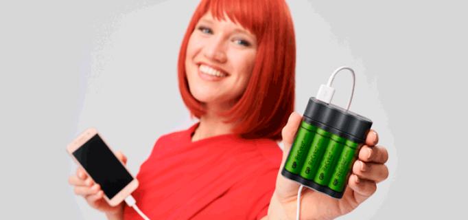 Miss IFA präsentiert: GP Charge AnyWay – 2-in-1 power solution (Ladegerät + Notfall Powerbank) von GP Batteries Europe