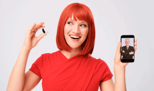 Miss IFA präsentiert das smarte Hörgerät ReSound LiNX 3D inklusive