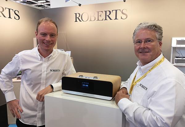 Roberts Radio: Valentino Hatterscheid und Ralf Reynolds mit Smart Radio Stream67