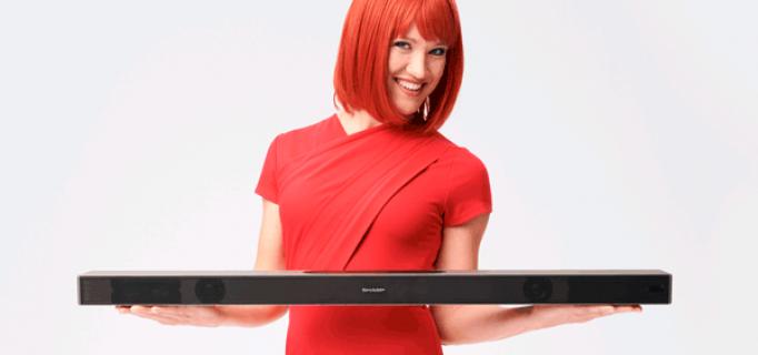 Miss IFA präsentiert: Soundbar Modell HT-SWB420 von UMC (Sharp)
