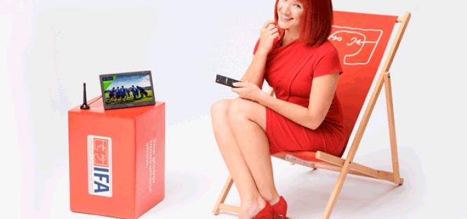 Miss IFA präsentiert: XORO PTL 1050 (portable freenet TV) by MAS Elektronik AG