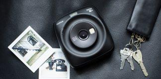 Die neue Instax Square SQ20. Foto: Fujifilm